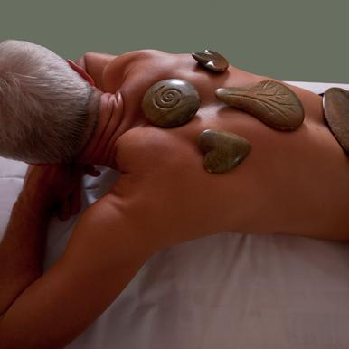 Angebot: Hot-Stone-Sensitive-Massage